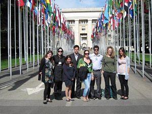 Rene Cassin group in Geneva