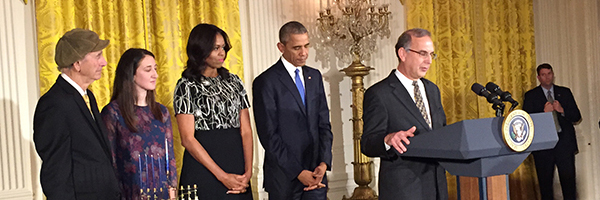 Rabbi Sid's Remarks at White House Chanukah Party