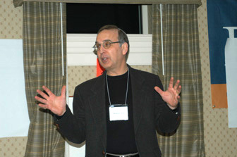 Rabbi Sid Schwarz at Adat Shalom in Maryland